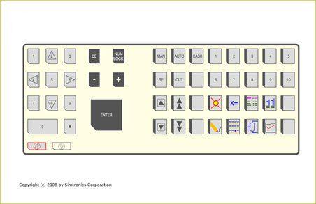 Emulated DCS Keyboard, Custom keyboards, emulated keyboard, tdc-3000 keyboard, infi 90 keyboard, centum cs keyboard, i/a series keyboard