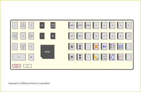 Emulated DCS Keyboard, Custom keyboards, emulated keyboard, tdc-3000 keyboard, infi 90 keyboard, centum cs keyboard, i/a series keyboard
